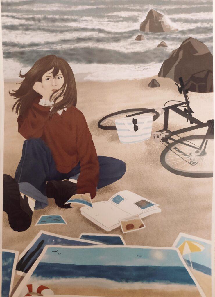 I-во място - компютърна рисунка Габриела Пехливанова 12д клас.