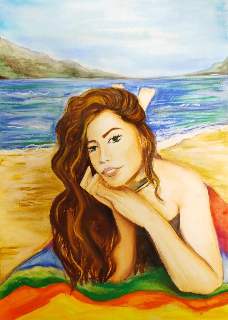 I-во място - рисунка Весела Ефремова 9е клас.