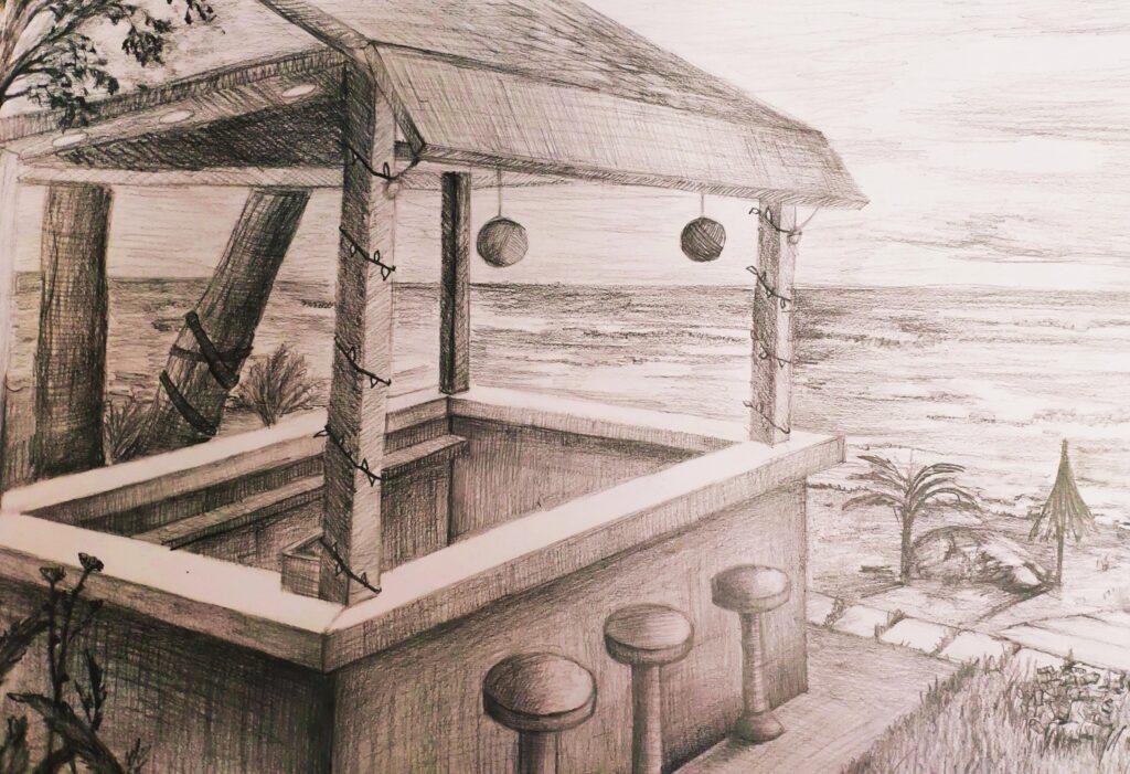 III-то място - графична рисунка Калоян Йорданов 8в клас.